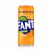 Fanta πορτοκάλι με Ανθρακικό 330ml (6αδα) Pack